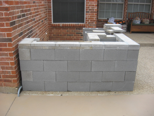 How To Build An Outdoor Kitchen With Concrete Blocks Www
